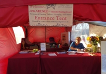 The Red Tent - Entrance